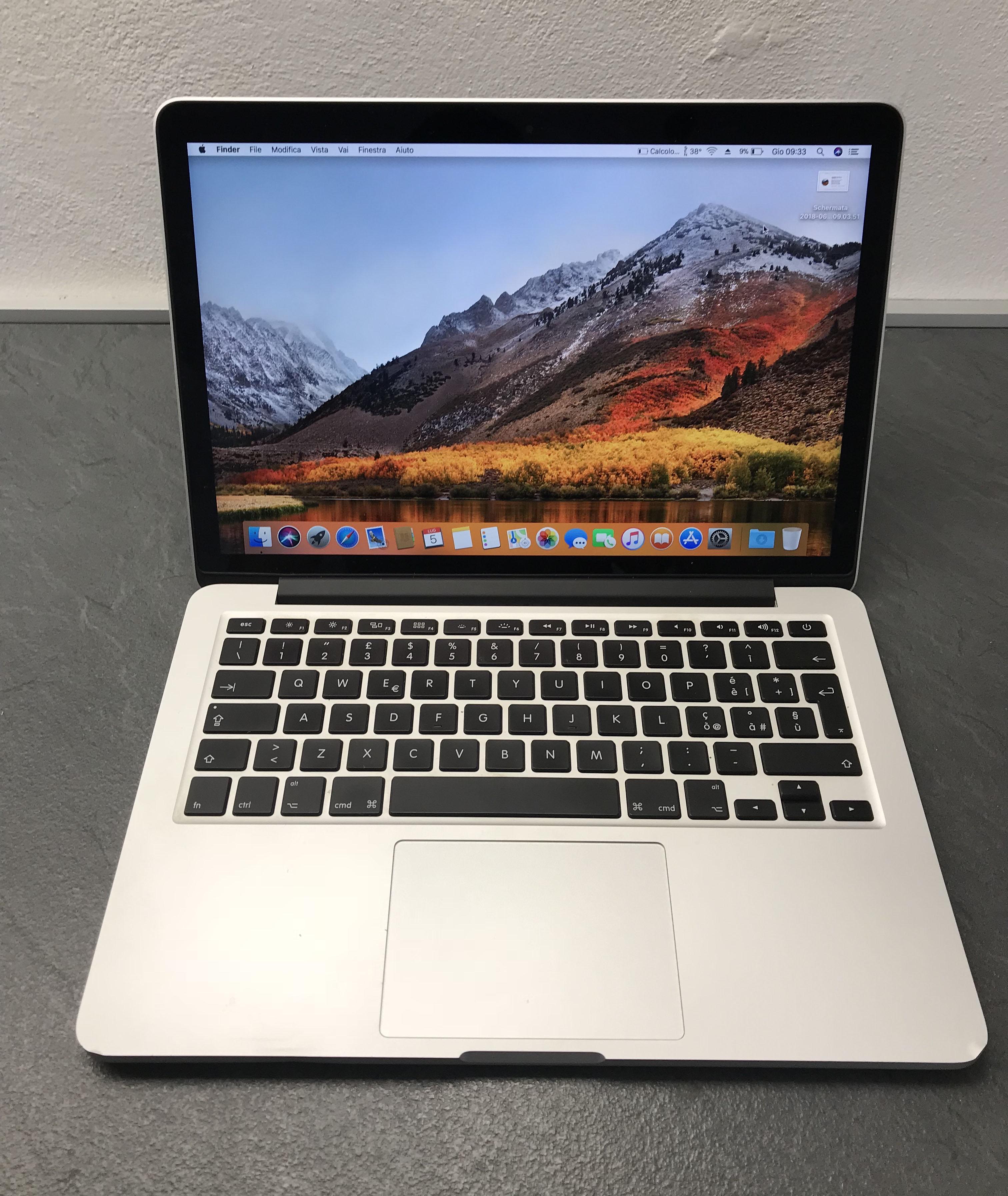 Macbook Pro 13 metà 2014