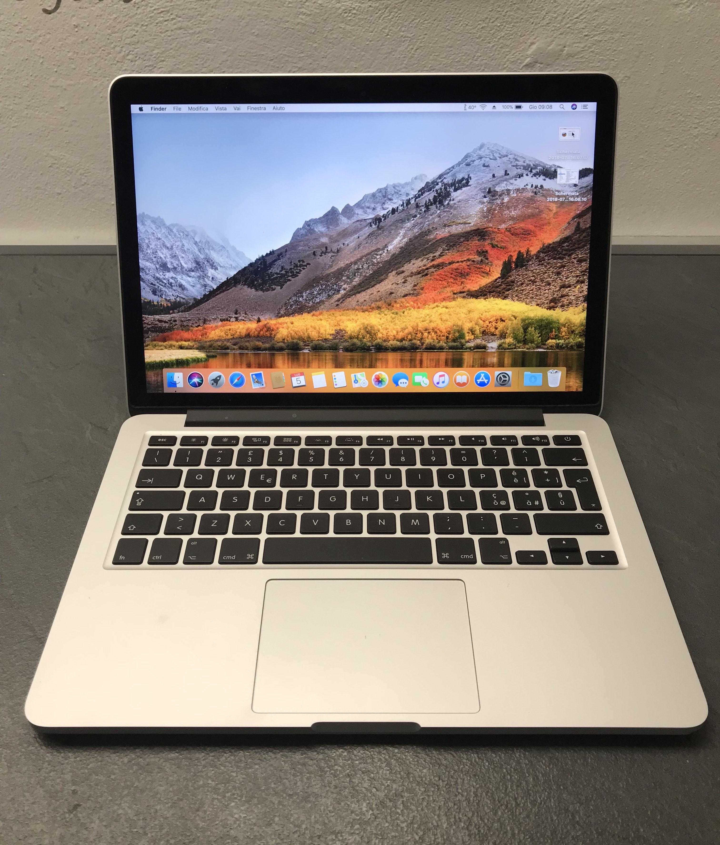 Macbook Pro 13 inizio 2015