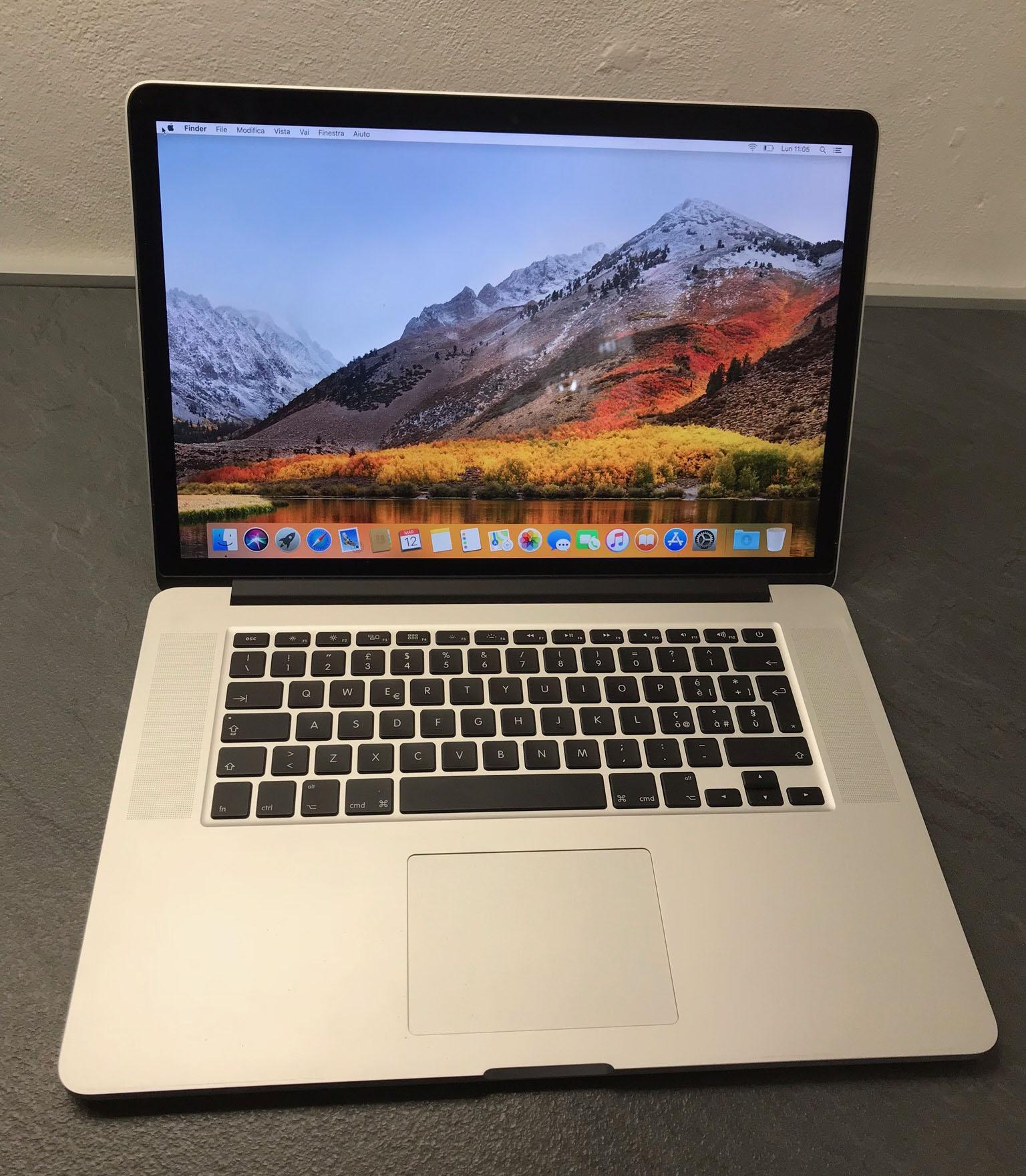 Macbook Pro 15 fine 2013